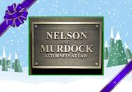 """<p>Is it legal to name your law firm """"Nelson and Murdock"""" if nobody there is named Nelson or Murdock? It would be a pretty great marketing gimmick if you can. If not, you can probably hang this in your office and darkly threaten people with law suits or, """"Something worse."""" Good luck getting Daredevil to actually follow up on that threat, though. (Credit: <a rel=""""nofollow noopener"""" href=""""https://www.etsy.com/listing/241745158/marvels-daredevil-nelson-and-murdock?utm_source=google&utm_medium=cpc&utm_campaign=shopping_us_branded-home_and_living-freeutm_custom1=a3916f6c-c3bc-4b73-b59f-caa907b1d6c2&gclid=CjwKEAiAmdXBBRD0hZCVkYHTl20SJACWsZj9BXMEkmCJFPiaaqcSLYbh3LXUtdJqo-m1oes_MjEDnhoCpf7w_wcB"""" target=""""_blank"""" data-ylk=""""slk:Etsy.com"""" class=""""link rapid-noclick-resp"""">Etsy.com</a>) </p>"""