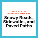 """<p>When looking for a good shoes to hit the town running during winter, Romano recommends going for something that transitions well from bare pavement to snow, as snow can quickly become packed down by foot and car traffic. </p><p> """"For this reason I would avoid shoes with an aggressive integrated metal or carbide stud [on the soles] as it won't feel great on snow-cleared surfaces. Choosing a shoe with a deeper, but wide-spaced lug that does well on the snow but also feels comfortable on hard surfaces is your best bet,"""" says Romano. She also recommends looking for something with grippy rubber on the outsole and a waterproof upper for when conditions are extra wet and slushy. </p>"""