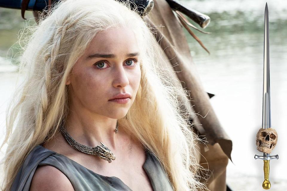 <p>Honestly, the Iron Throne is Daenerys's to lose at this point. While she's made more than a few mistakes on her road to reclaiming her House's birthright, none of them have proven deadly. And since she won over the Dothraki the first time around, she'll find a way to turn their frowns at seeing their dethroned Khaleesi upside down.</p><p><i>(Credit: Helen Sloa/HBO)</i></p>