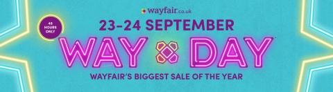 Wayfair Announces Way Day 2020 – Biggest Sales Event of the Year Launches on September 23