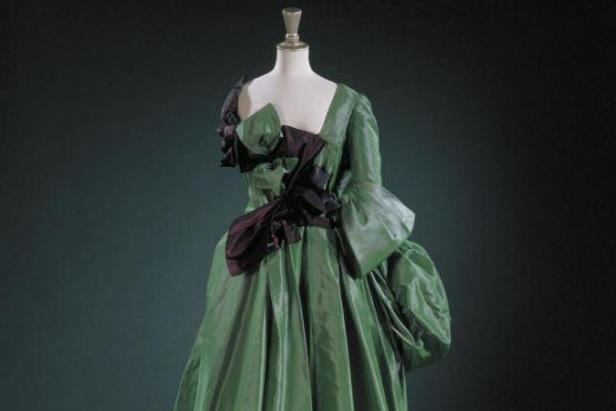 Watteau evening dress: From the 1996 Les Femmes collection (Vivienne Westwood)