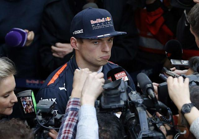 The history boy: Max Verstappen has broken plenty of records but he is no longer the new kid on the block