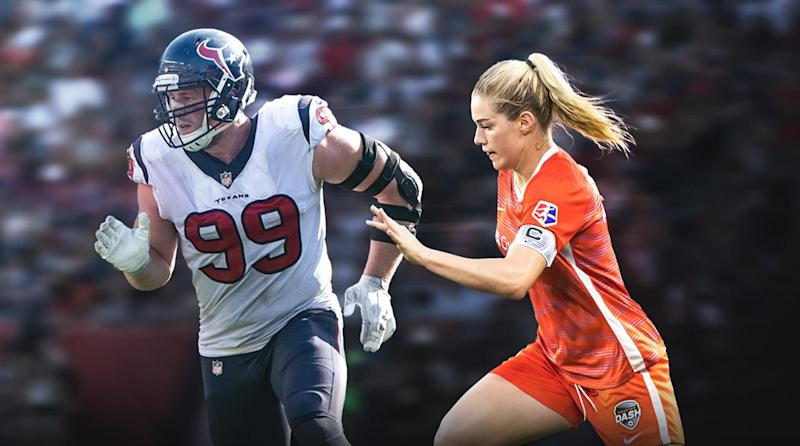 cc774697ae4dc J.J. Watt and Kealia Ohai: Couple's Rehab and Recovery