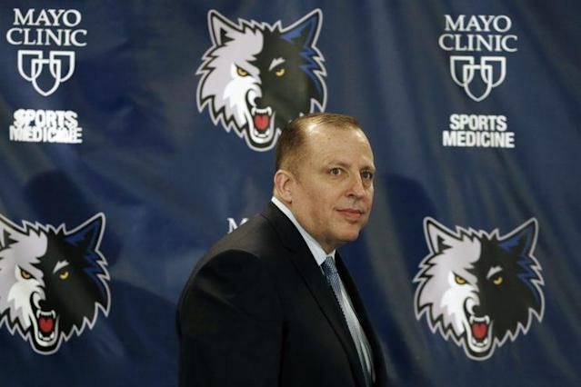 Tom Thibodeau has one of the NBA's most promising rosters. (AP)