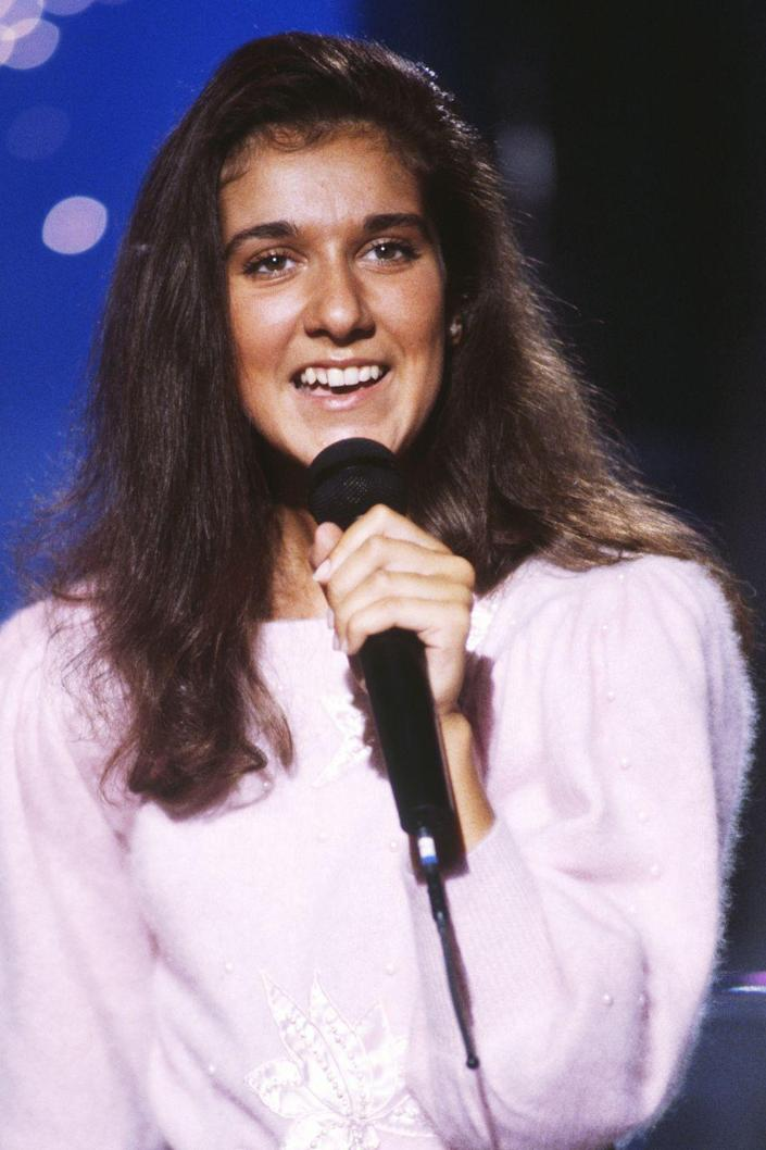 <p>As an up-and-coming French Canadian vocalist, young Celine was undeniably brunette.</p>