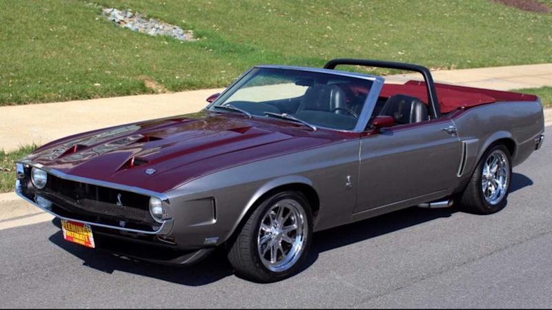 1 of 194 1970 Ford Shelby GT350 Convertible Pro Touring For Sale