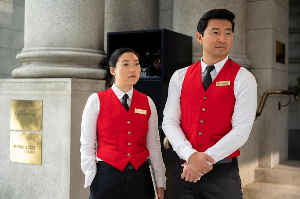 After saving the world, best friends Katy (Awkwafina) and Shang-Chi (Simu Liu) take their next step into the larger Marvel universe.