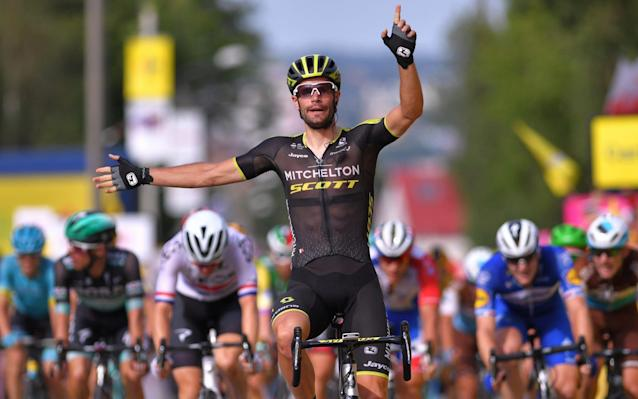 Luka Mezgec won a sprint finish to take a second victory on stage five - Velo