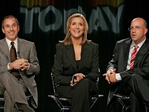 Jeff Zucker Meredith Vieria Matt Lauer Today