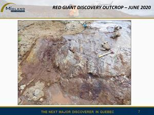 Red Giant discovery