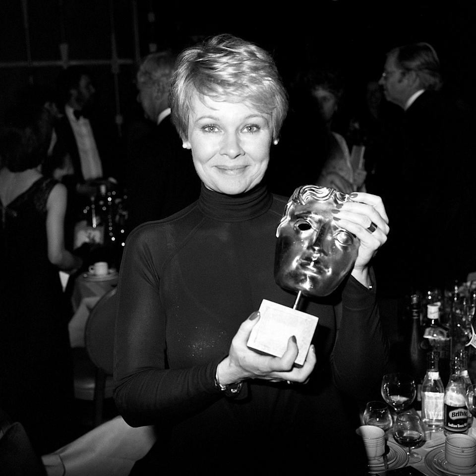 <p>She won a British Academy of Film and Television Arts Award for best actress in <em>A Fine Romance.</em></p>