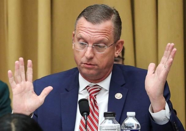 PHOTO: Rep. Doug Collins (R-GA) speaks during a House Judiciary Committee meeting regarding procedures related to its investigation to recommend articles of impeachment with respect to resident Donald Trump on Capitol Hill, Sept. 12, 2019. (Jonathan Ernst/Reuters)