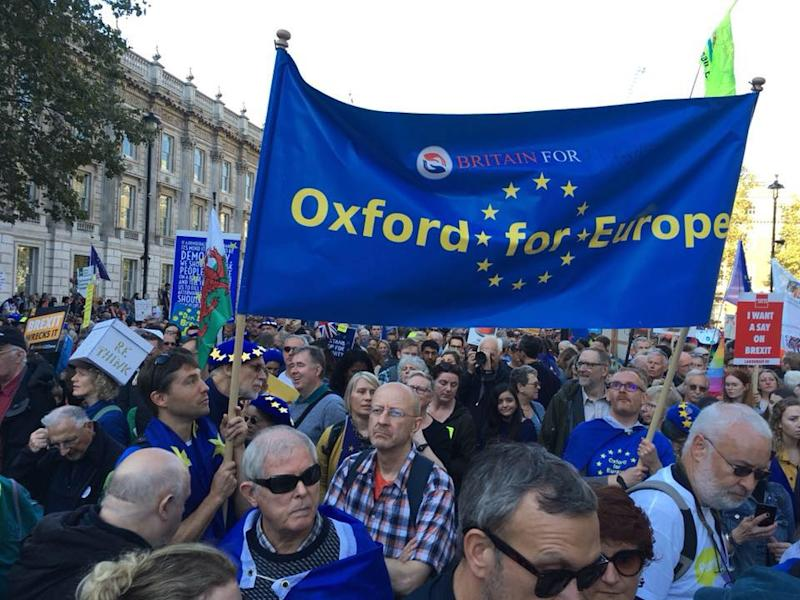 The Oxford for Europe campaign group has helped organise a vigil to mourn the UK's departure from the EU (Oxford for Europe/Facebook)