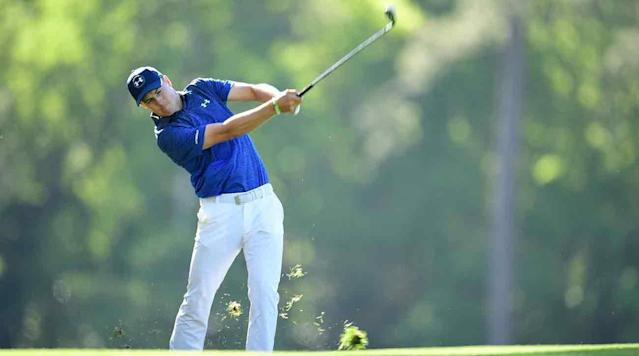 AUGUSTA, Ga. - For a player who started his second round a daunting 10 shots behind the leader, Jordan Spieth is back in the mix at the 81st Masters.