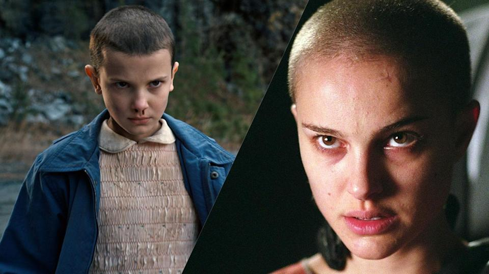 <p>They both started out as child stars, they've both shaved their heads for roles, they both make projects geeks love. <em>Stranger Things</em>' Bobby Brown will have to go a long way to match Natalie Portman's movie career though. </p>