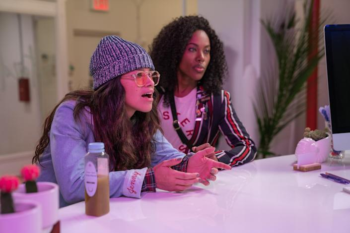 """<p>Gina Rodriguez stars in this heartfelt rom-com about a music journalist whose boyfriend of nearly a decade breaks up with her after she lands her dream job across the country. Devastated, she and her two best friends have one last adventure in New York, the place they've called home for years.</p> <p><a href=""""https://www.netflix.com/title/80202920"""" rel=""""nofollow noopener"""" target=""""_blank"""" data-ylk=""""slk:Available to stream on Netflix"""" class=""""link rapid-noclick-resp""""><em>Available to stream on Netflix</em></a></p>"""