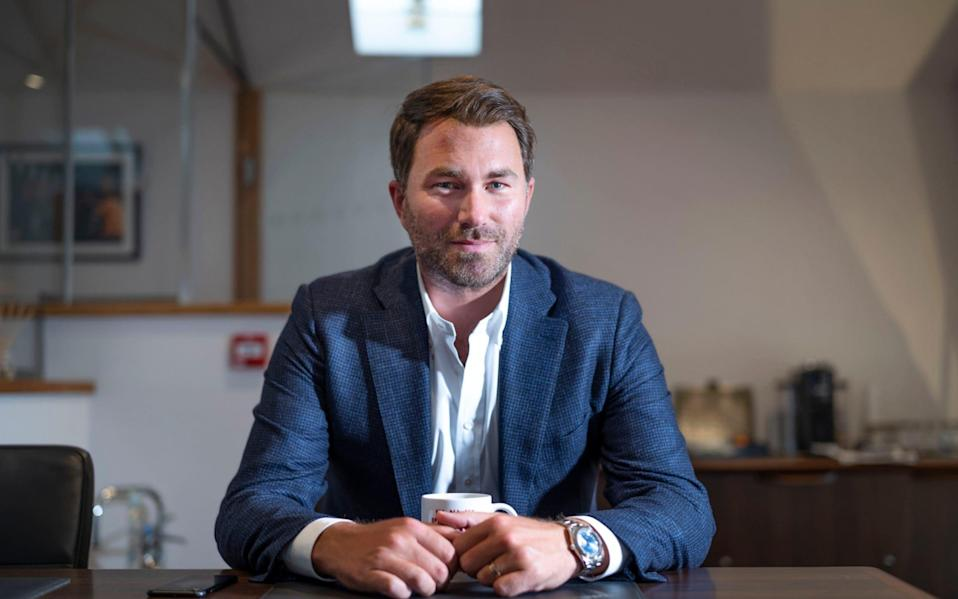 Eddie Hearn - David Rose for The Telegraph
