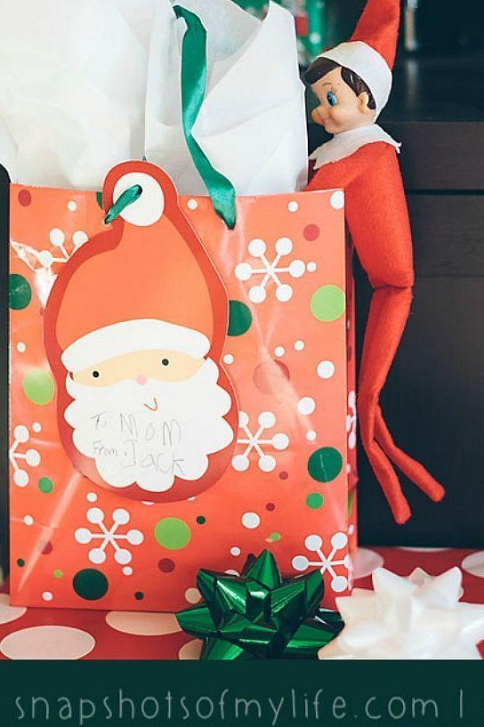 """<p>We've all been there. Give your Elf a break, and let him take a peek at this year's gifts early!</p><p><strong>Get the tutorial at <a href=""""http://snapshotsofasweetlife.blogspot.com/search/label/Elf%20on%20the%20Shelf"""" rel=""""nofollow noopener"""" target=""""_blank"""" data-ylk=""""slk:Snapshots of My Life"""" class=""""link rapid-noclick-resp"""">Snapshots of My Life</a>. </strong></p><p><strong><a class=""""link rapid-noclick-resp"""" href=""""https://www.amazon.com/slp/christmas-gift-bags/woyqk2smsgj86gw?tag=syn-yahoo-20&ascsubtag=%5Bartid%7C10050.g.22690552%5Bsrc%7Cyahoo-us"""" rel=""""nofollow noopener"""" target=""""_blank"""" data-ylk=""""slk:SHOP CHRISTMAS GIFT BAGS"""">SHOP CHRISTMAS GIFT BAGS</a><br></strong></p>"""