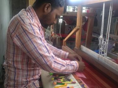 Make in India: Immersed in finesse of weaving the famed Paithani sarees, Yeola in Maharashtra plugs urban migration