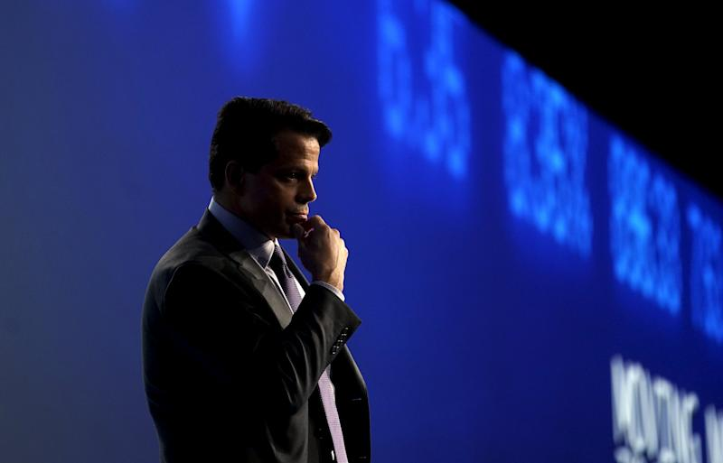 Anthony Scaramucci at the annual Skybridge Alternatives Conference (SALT) in Las Vegas May 7, 2015. REUTERS/Rick Wilking