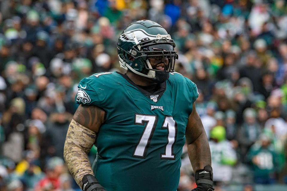 The Bears have signed former Eagles tackle Jason Peters. (Photo by John Jones/Icon Sportswire via Getty Images)