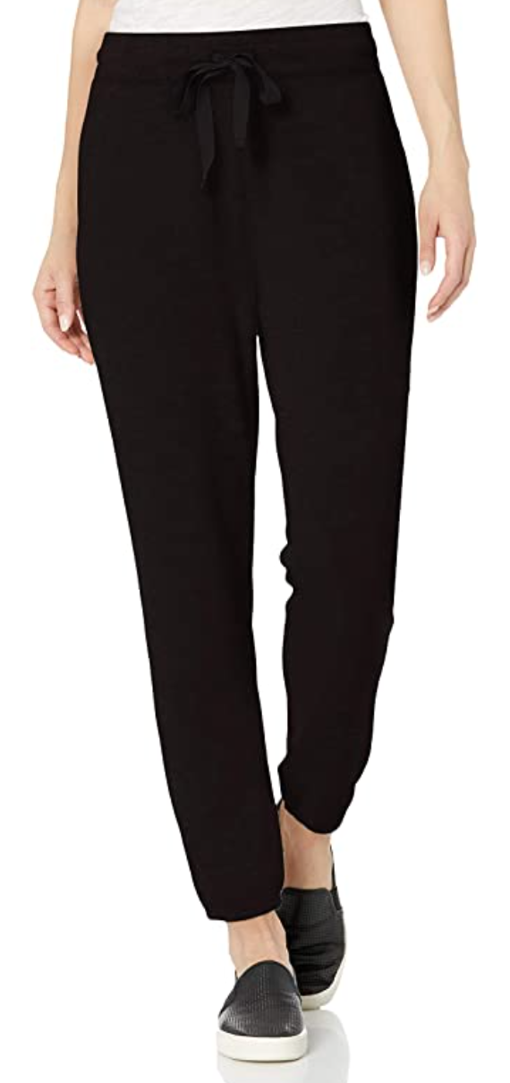 Daily Ritual Women's Cozy Knit Jogger in Black