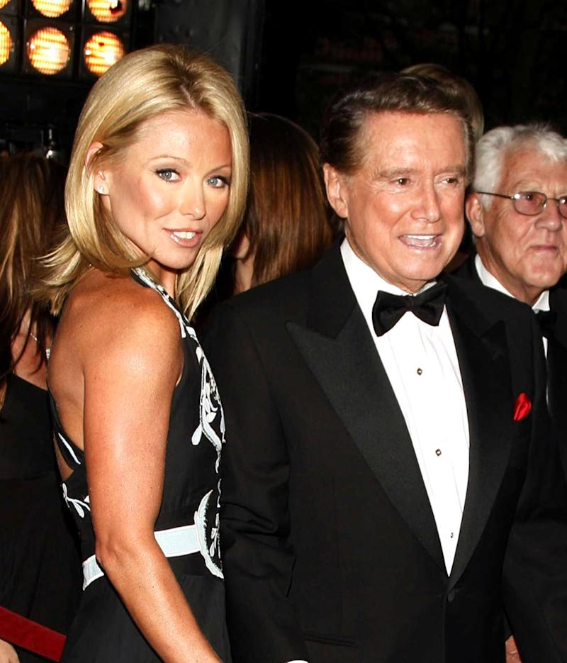 Kelly Ripa and Regis Philbin in 2006. (Photo: Getty Images)