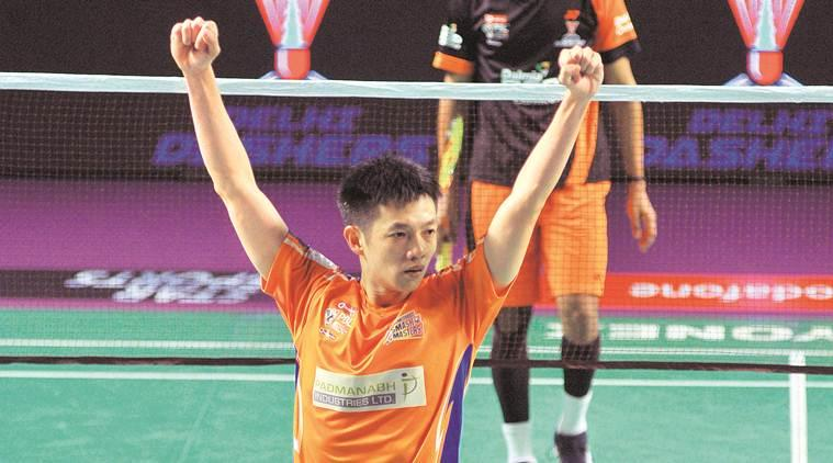 premier badminton league, pbl 2018, Ahmedabad Smash Masters, Daren Liew, India badminton news, indian express news