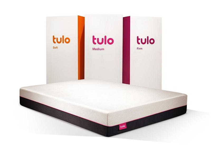Whether you're into soft, medium, or firm, get yourself a new mattress for the best sleep. SHOP NOW: Queen Memory Foam Mattress by Tulo, from $499 $700, tulo.com