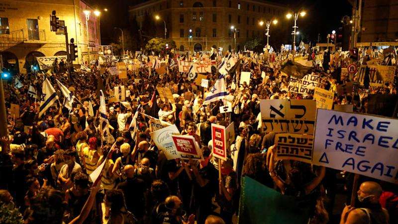 Anti-Netanyahu protests in Israel continue to grow