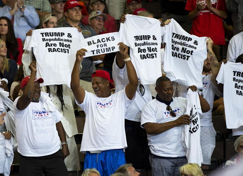 Trump Campaign Forms Group to Reach African-American Voters