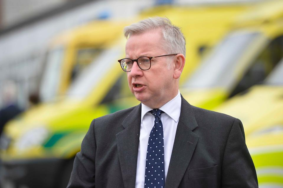 The PM appeared to suggest diverting some responsibilities from Hancock to Cabinet Office Minister Michael Gove (PA)