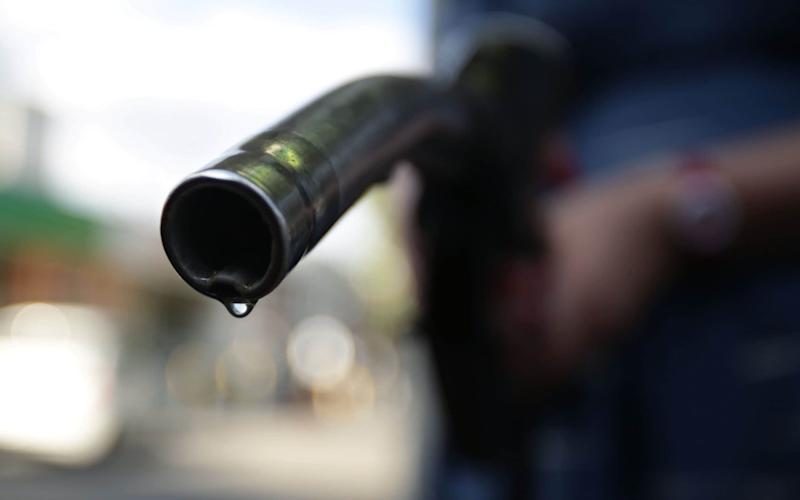 The diesel nozzle at a fuel station – unlikely to be an endangered species for at least another 30 years - PA