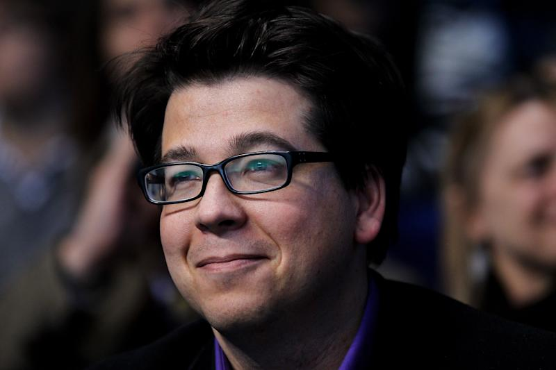 LONDON, ENGLAND - NOVEMBER 27: Comedian Michael McIntyre watches the Andy Murray and Rafael Nadal men's semi-final match against of Spain during the ATP World Tour Finals at O2 Arena on November 27, 2010 in London, England. (Photo by Matthew Lewis/Getty Images)