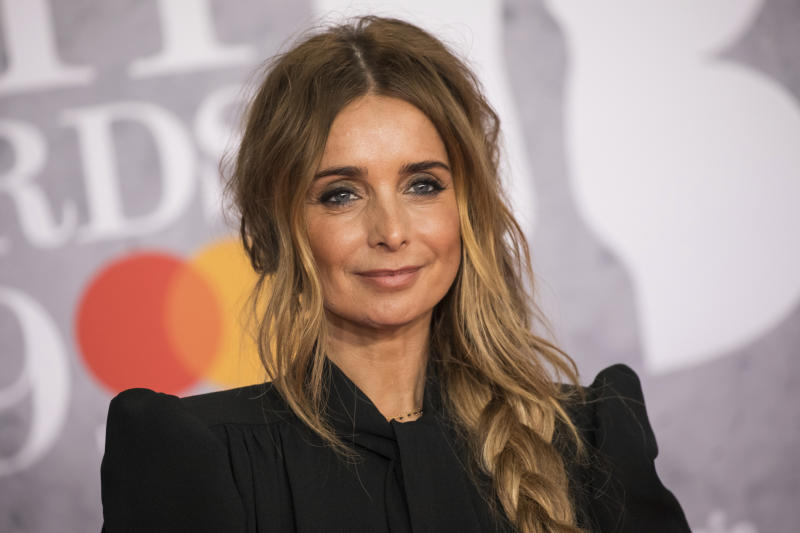 Louise Redknapp poses for photographers upon arrival at the Brit Awards in London, Wednesday, Feb. 20, 2019. (Photo by Vianney Le Caer/Invision/AP)