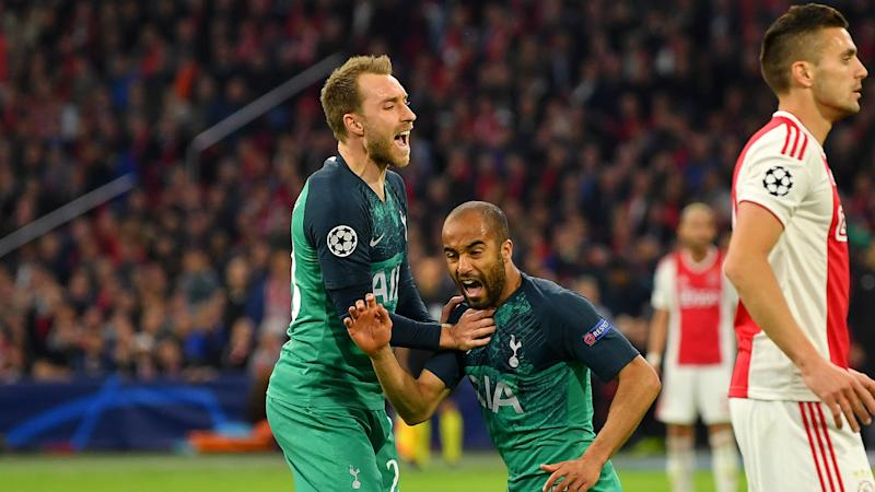 I feel sorry for Ajax - Eriksen admits Spurs were 'lucky' in semi-final