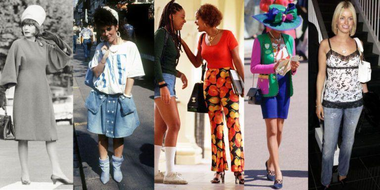 <p>Ah, throwback fashion—is there anything better? Actually, yes: When that throwback fashion reminds you exactly where you came from. Here, click through 100 years of street style, find the year you were born, and cringe/laugh/reminisce. You're welcome.</p>