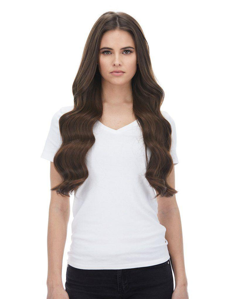 """<p>bellamihair.com</p><p><strong>$285.99</strong></p><p><a href=""""https://www.bellamihair.com/collections/magnifica-240g-24inch-clip-in-hair-extensions/products/magnifica-4-chocolate-brown-hair-extensions-240g-24"""" rel=""""nofollow noopener"""" target=""""_blank"""" data-ylk=""""slk:Shop Now"""" class=""""link rapid-noclick-resp"""">Shop Now</a></p><p>If you're looking for something to wear on your wedding day or just know that you're ready to invest in some of the highest quality extensions out there, you won't regret Bellami's iconic clip-ins. </p><p>Plus, they don't budge—I wore mine comfortably for 12 hours straight at my sister's wedding and got tons of compliments.</p>"""