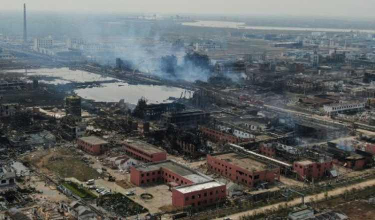 Death toll climbs to 78 in one of China's worst industrial blast