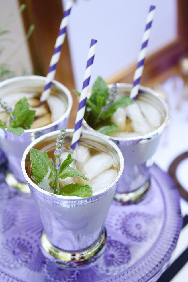 """<p>Infuse your cocktail with lavender syrup for a twist on the classic Derby Day drink.</p><p><strong>Get the recipe at <a href=""""http://pizzazzerie.com/holidays/lavender-mint-juleps-derby-party-ideas/"""" rel=""""nofollow noopener"""" target=""""_blank"""" data-ylk=""""slk:Pizzazzerie"""" class=""""link rapid-noclick-resp"""">Pizzazzerie</a></strong>.</p>"""