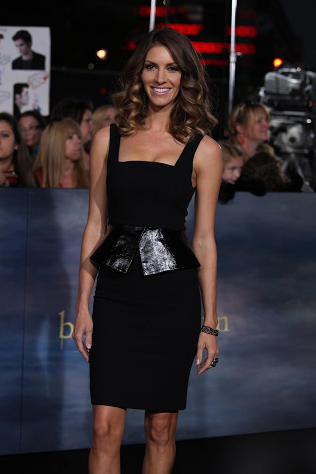 "Dawn Olivieri arrives at ""The Twilight Saga: Breaking Dawn - Part 2"" Los Angeles premiere at the Nokia Theatre L.A. Live on November 12, 2012 in Los Angeles, California."