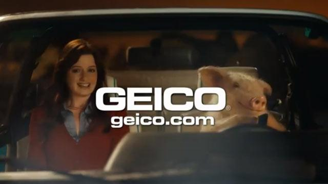 GEICO Pig on a Date Angers One Million Moms