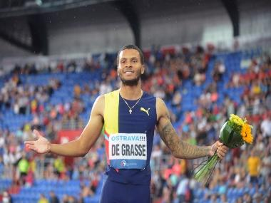 Birmingham Diamond League: Canadian Andre de Grasse taking baby steps to reattain tag of 'heir apparent' to Usain Bolt