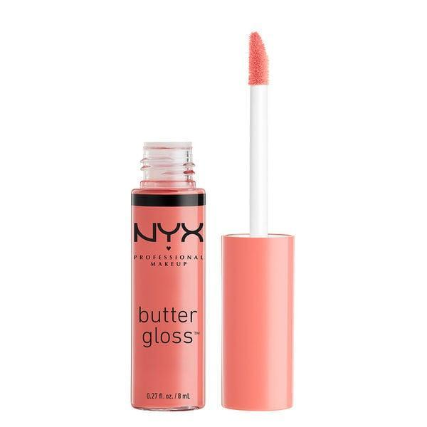 """<p><a href=""""https://www.popsugar.com/buy/NYX-Professional-Makeup-Butter-Gloss-331923?p_name=NYX%20Professional%20Makeup%20Butter%20Gloss&retailer=ulta.com&pid=331923&price=5&evar1=bella%3Aus&evar9=41810731&evar98=https%3A%2F%2Fwww.popsugar.com%2Fbeauty%2Fphoto-gallery%2F41810731%2Fimage%2F41810732%2FNYX-Professional-Makeup-Butter-Gloss&list1=makeup%2Cbeauty%20products%2Cbeauty%20shopping%2Cnyx%2Cbeauty%20review&prop13=api&pdata=1"""" class=""""link rapid-noclick-resp"""" rel=""""nofollow noopener"""" target=""""_blank"""" data-ylk=""""slk:NYX Professional Makeup Butter Gloss"""">NYX Professional Makeup Butter Gloss</a> ($5) has always been a favorite of beauty bloggers. Its formula delivers medium coverage and is smooth, soft, and not sticky. Available in 34 shades, these creamy glosses can be worn with any makeup look.</p>"""