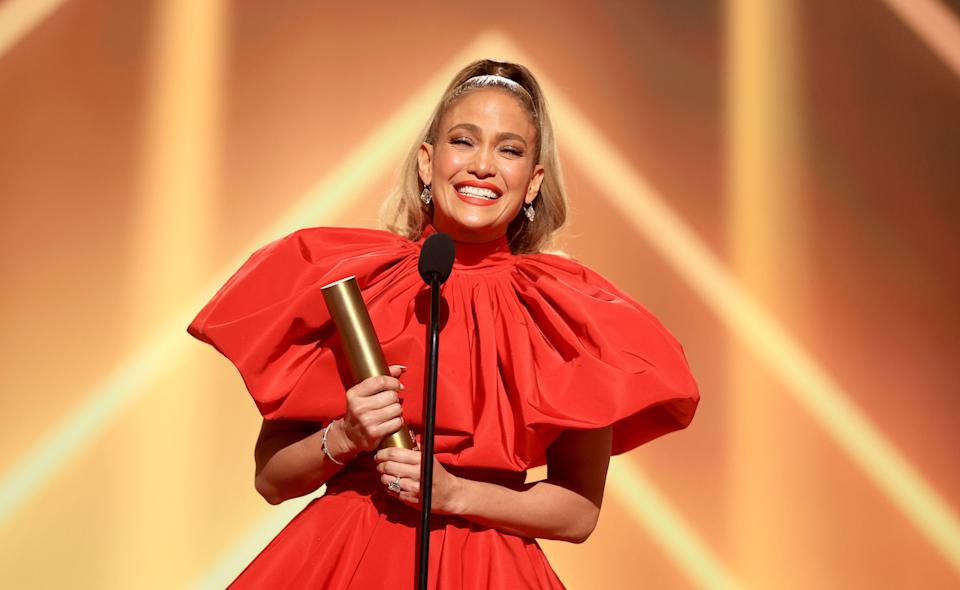 <p>The latter half of 2020 has been somewhat starved of red-carpet glamour with premieres, award shows and film festivals cancelled, postponed or turned into virtual offerings as a result of the Covid-19 pandemic. </p><p>However, last night saw the annual People's Choice Awards take place in Los Angeles, which, although audience-free and on a much smaller scale than usual, saw a number of stars attend in person, giving us a dose of the glamour we have been missing.</p><p>Scroll through to see some of our favourite looks of the night, which saw Jennifer Lopez, Tracee Ellis Ross and Christina Hendricks, among others, step it up on the red carpet.</p>