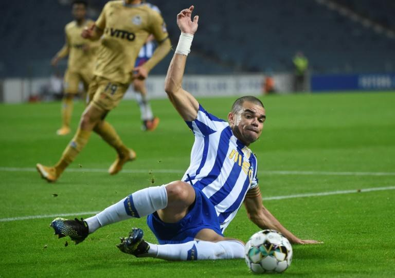 Porto captain Pepe won three Champions League trophies with Real Madrid