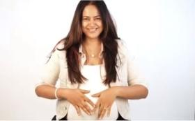 Heavily pregnant Sameera Reddy is winning hearts with 'imperfectly perfect' body positivity video