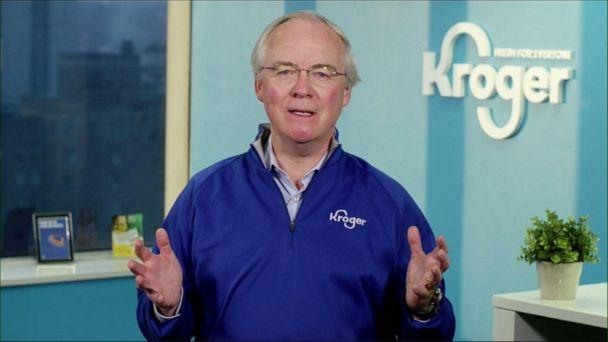 VIDEO: Kroger CEO talks Thanksgiving grocery demand, new product limits amid COVID surge (ABCNews.com)