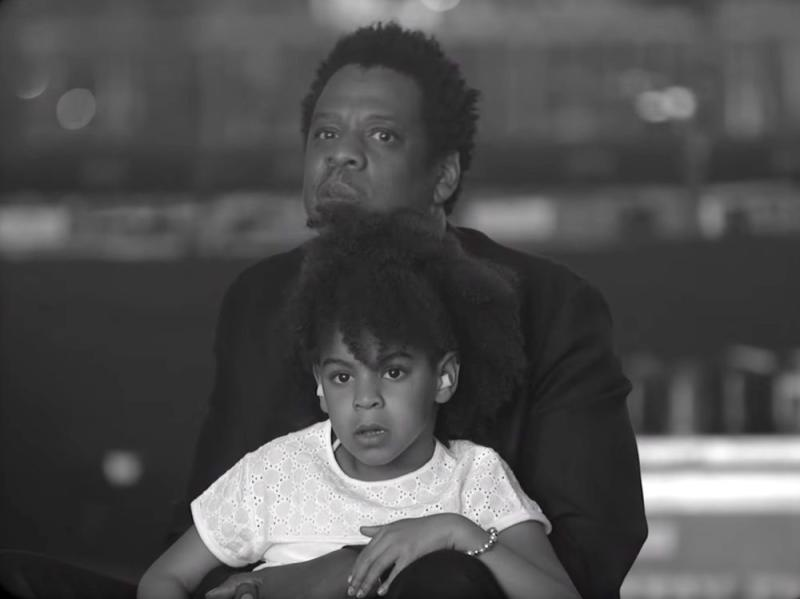JAY-Z and Blue Ivy | Netflix