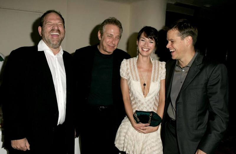 Lena first met Weinstein in 2005 at the Venice Film Festival. Getty
